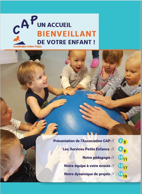CAP Livret Petite Enfance mai 2019